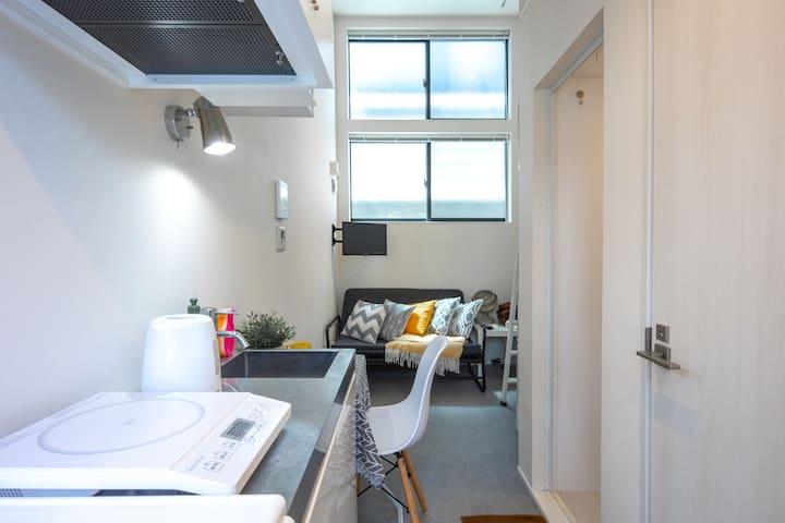 H145_5min Shinjuku|Cozy Loft|Max 3ppl|Free Wifi