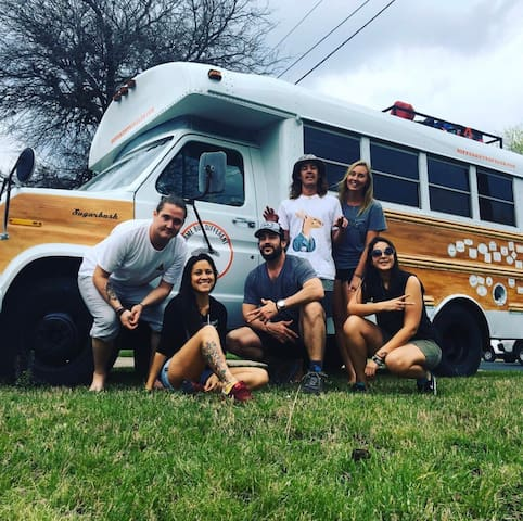 SHORT BUS STAY IN THE HEART OF DOWNTOWN RALEIGH!