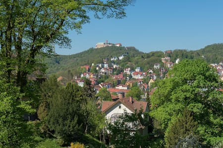 Ferienwohnung Burgpanorama 100m²