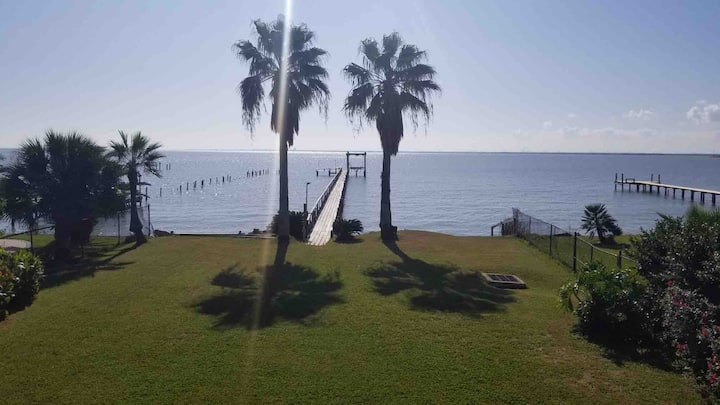 Waterfront 2ndfloorduplex 3b/2b 315ft lighted pier