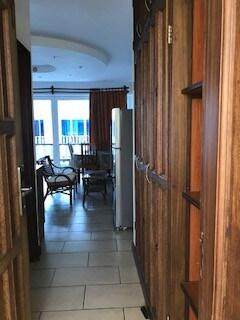 front door view looking into the studio