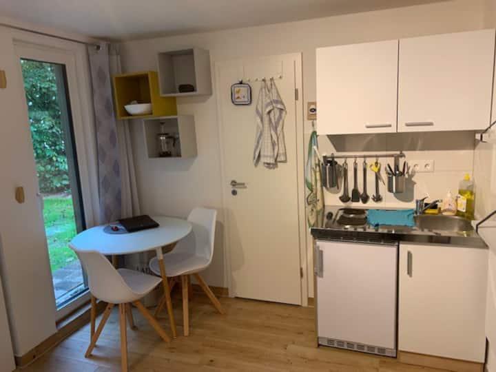 Apartment HQ 5 schnucklig mit Gartenblick