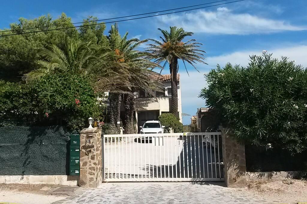 Entrée de la résidence