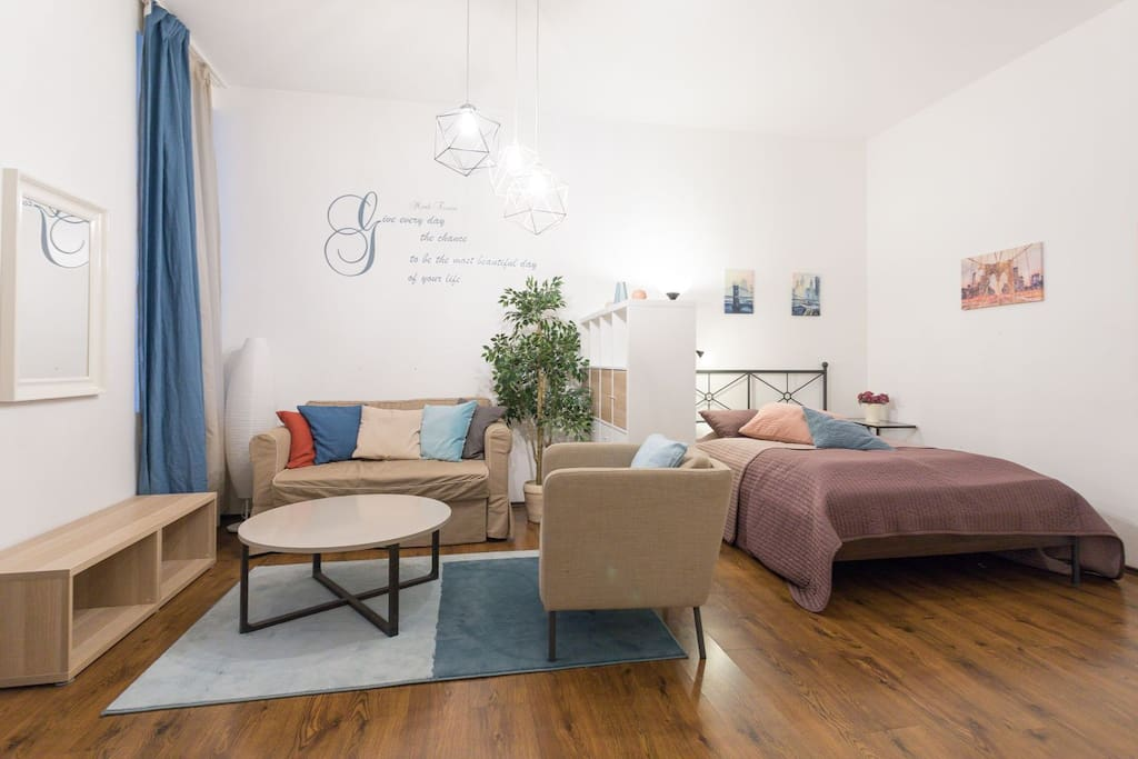 Cozy Studio Apartment that sleeps up to 4 Persons