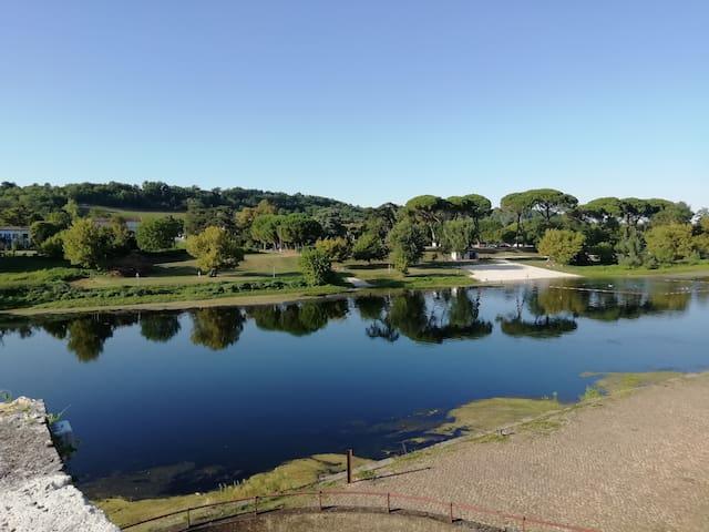 Riverside Gironde aquitaine, romantic apartment
