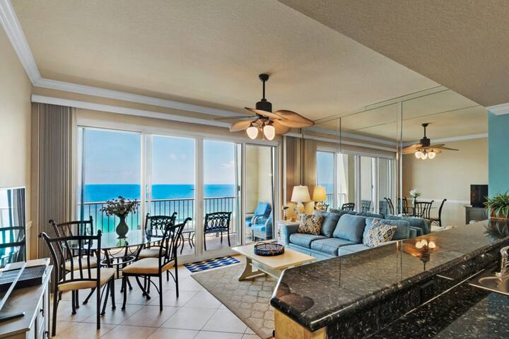Gulf View, Condo, Onsite Sports, Arcade, Dining, & Shopping!