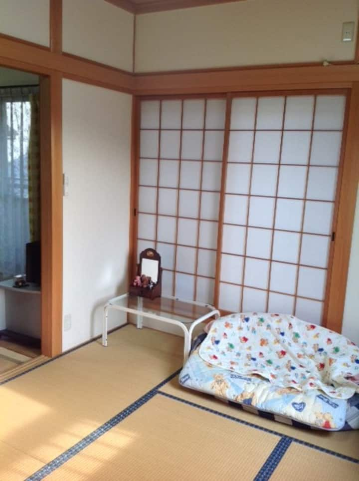 女性専用民泊 和室 「コナツ」6畳( 1~2人部屋)
