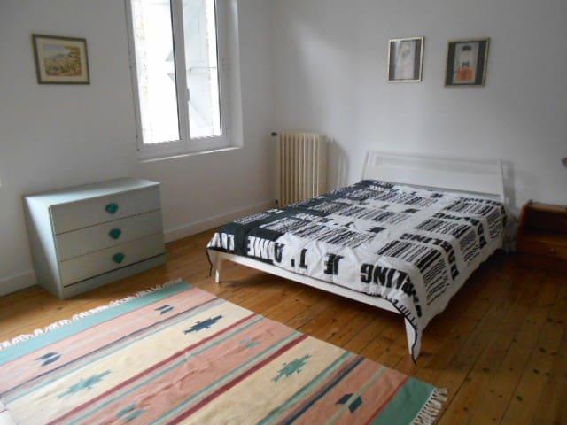 Grande chambre calme à Portet sur Garonne
