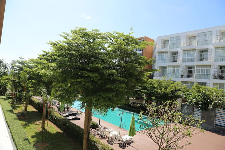 """Chill Out"" Condo 3 @Klong Muang beach"