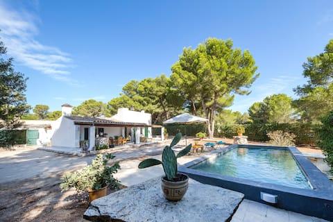 Hus i Ses Covetes, Es Trenc. Mallorca