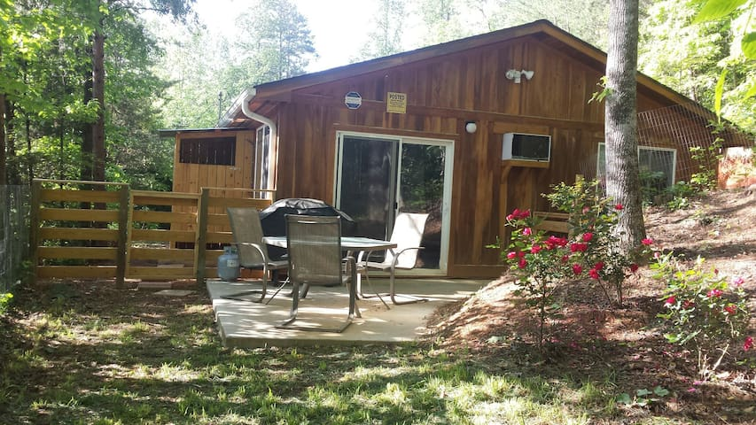 Beautiful private cabin: near town; kids & pets!