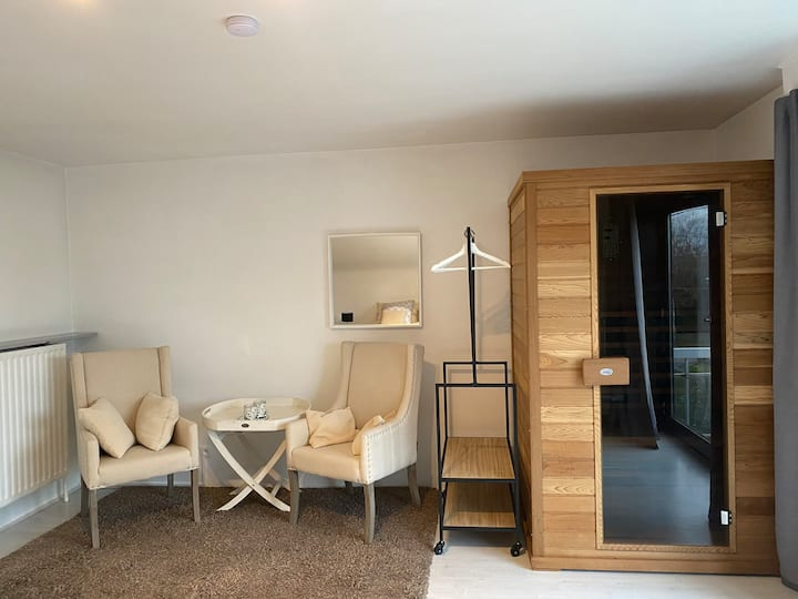Strakke, moderne villa met sauna in Koksijde (8 p)