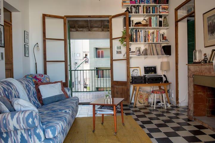 Arty mallorquin apartment with terrace. - Palma - Apartment
