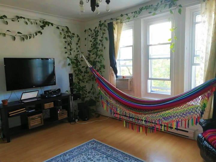 Grand appartement lumineux et cozy