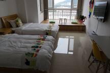 柒朵07海景房国际海水浴场银丰山大可烹饪美食海鲜厨具齐全