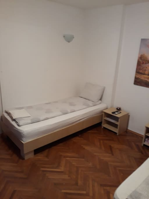 Room Nr 2 located on 2nd floor. Brand new comfortable beds.