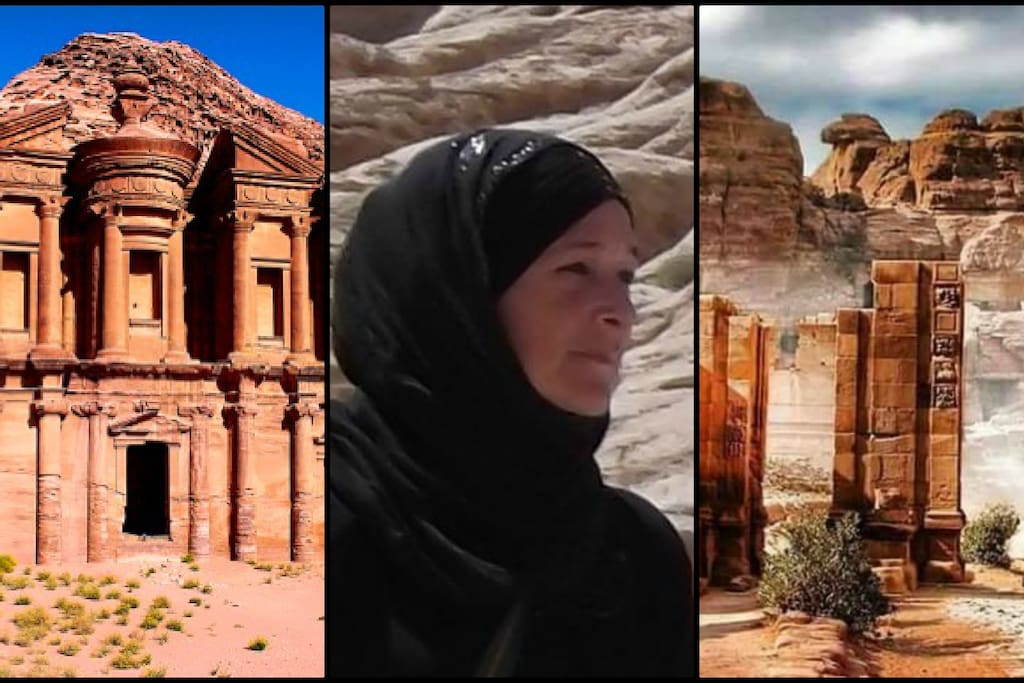 Maryam, your host in Wadi Musa - Petra