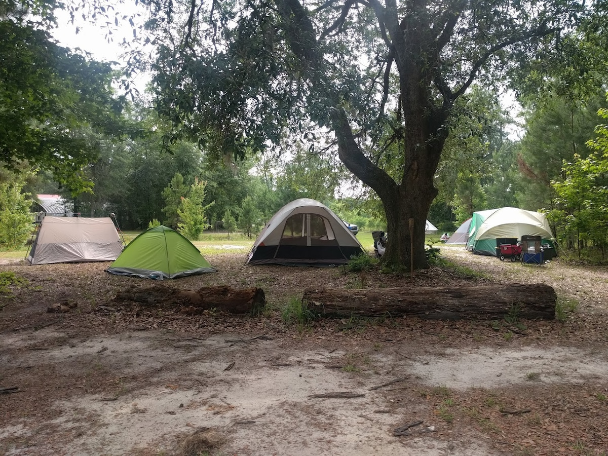 tent camping myrtle beach