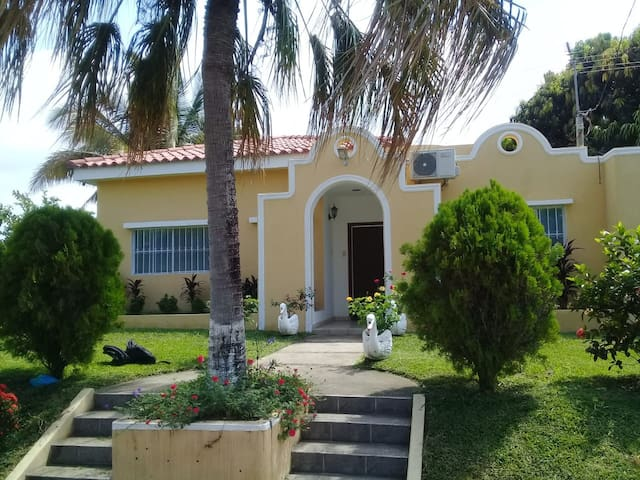 Jiboa Country Club Casa privada, piscina y playa