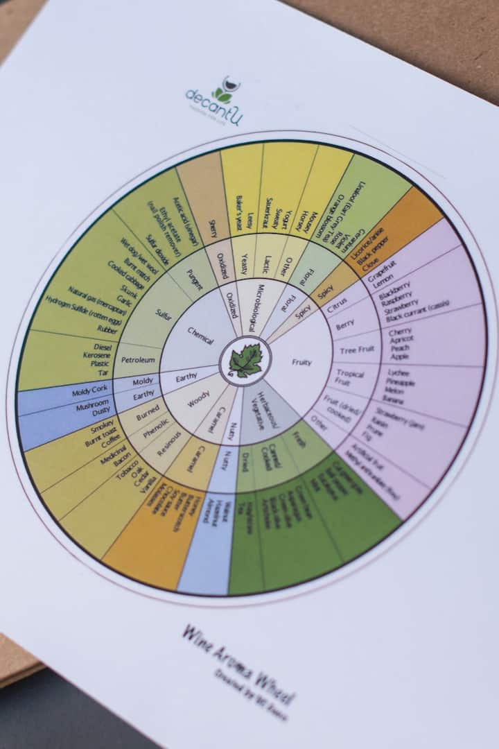 Exploring the Wine Aroma Wheel