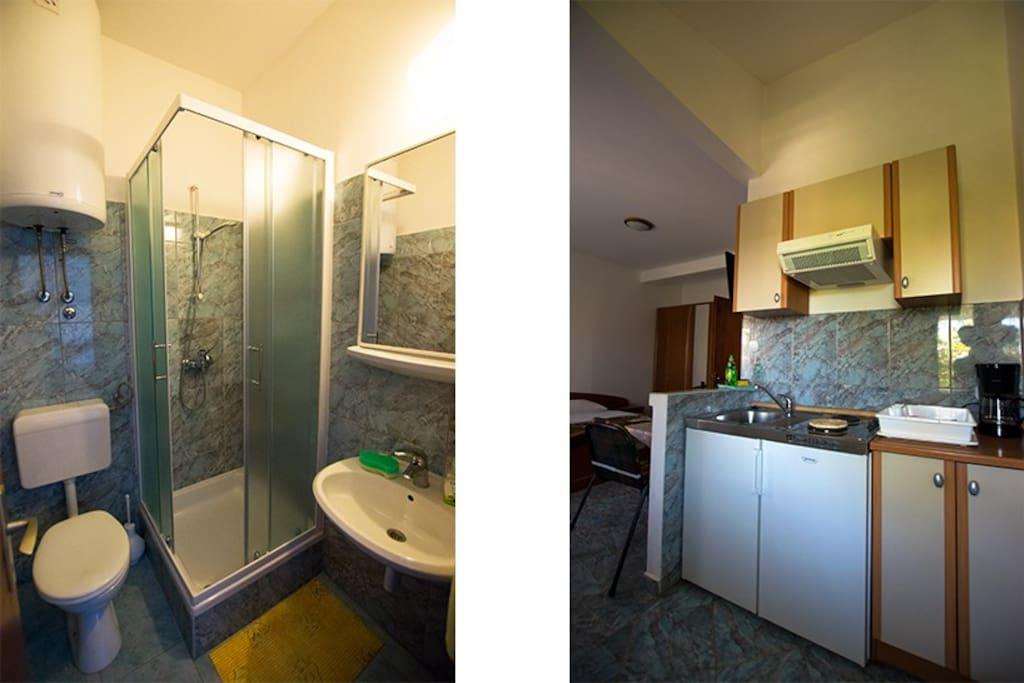 bathroom/kitchen