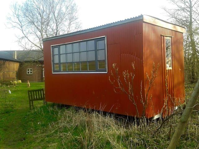 Renoveret skurvogn - Tønder - Hut