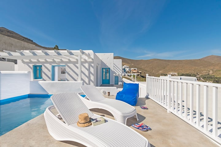 Villa Seabed (Aegean sea villas) - seaside Villa