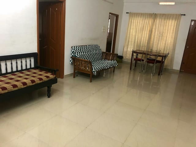 furnished 3bhk one KILOMETRE from THrISSUR TOWn:))