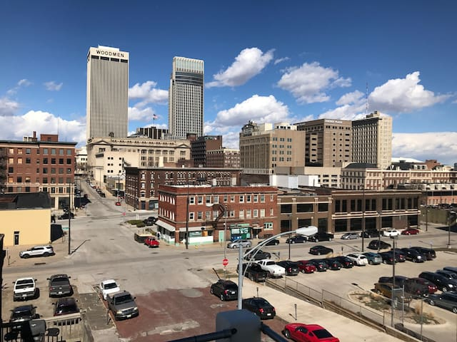 Entire apartment in downtown Omaha