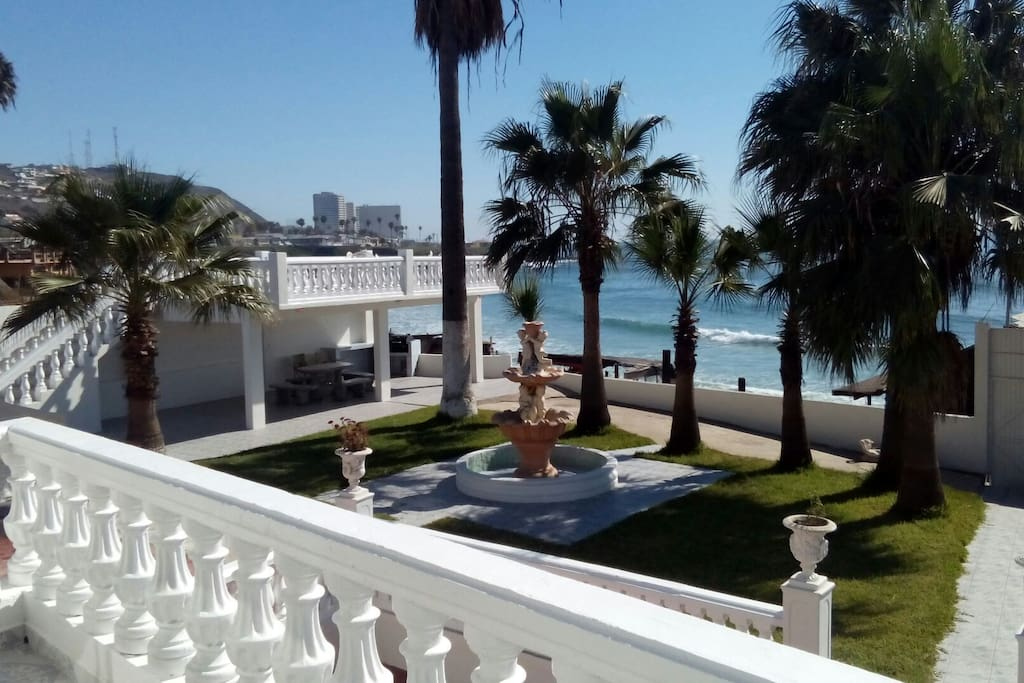 5 Bedroom Oceanfront Hacienda In Rosarito, Mexico UPDATED ... |Rental Houses Rosarito Mexico