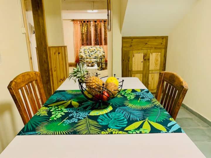 Appartement Tropical Candy avec jardin privé