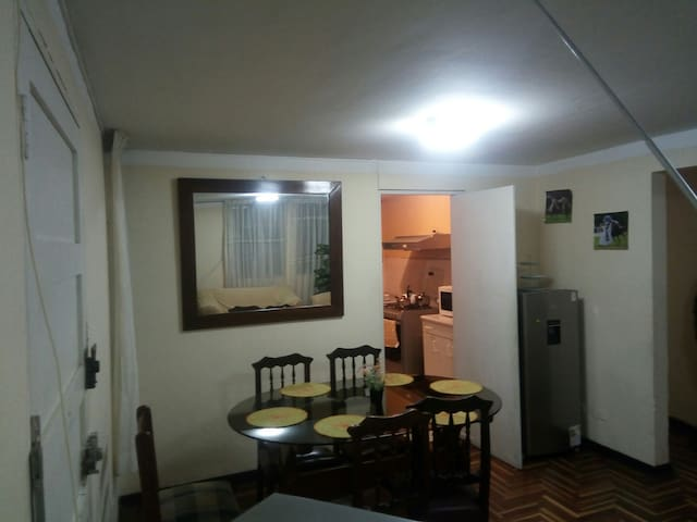 Furnished Apartment/Departamento completo 1er.piso