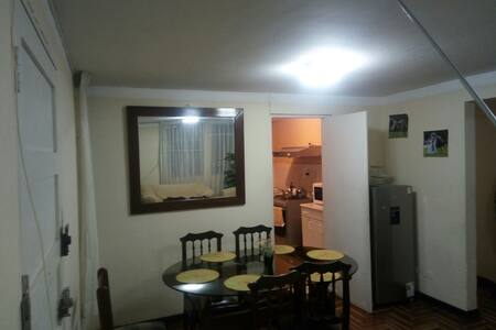 Furnished Apartment/Departamento completo 1er.piso