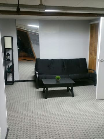 Open cozy private space in bloomy town - Floral Park - Casa