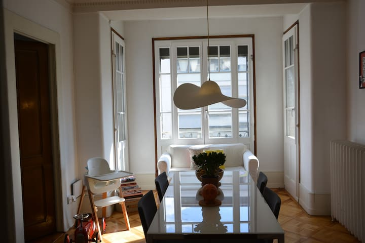 Beautiful Luminous Central Apartment Geneva - Cenevre - Daire