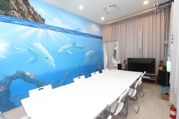 HF基隆3D海洋豪華包棟樓中樓,可住10~16人