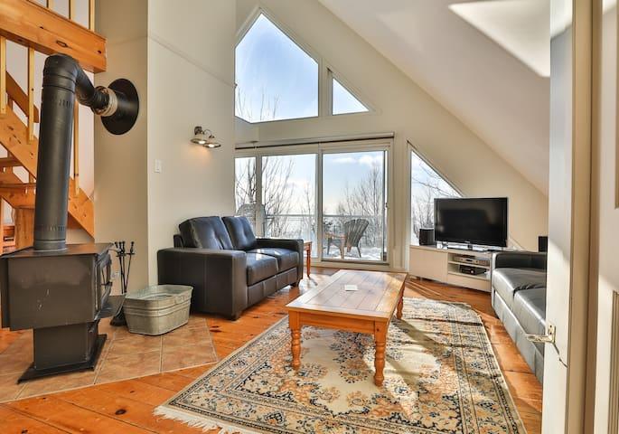 Les Sommets Charlevoix Condo-Chalet 59 - Haut - Petite-Rivière-Saint-François - Serviced apartment