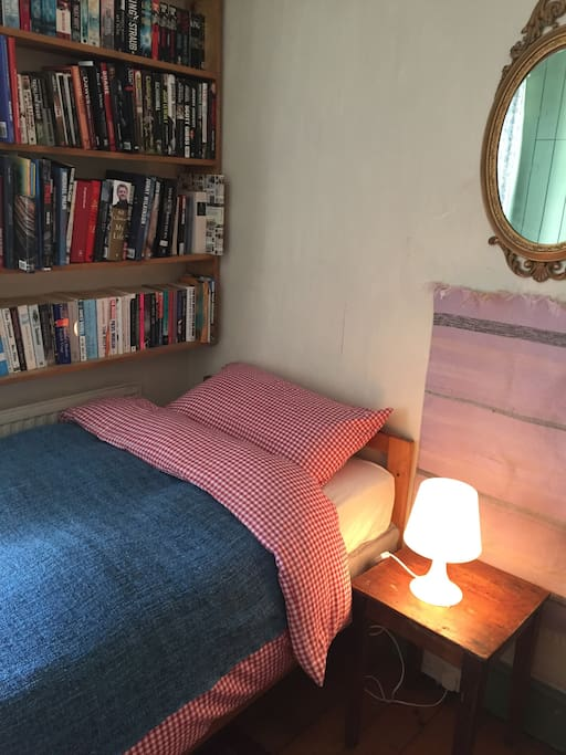 Our cosy single room