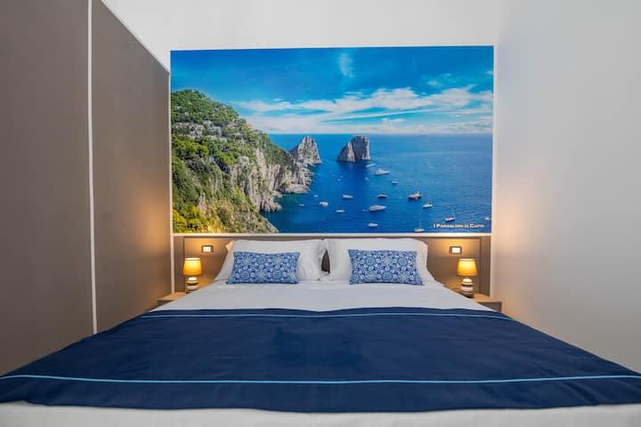 Palazzo Caracciolo del Sole - Capri room