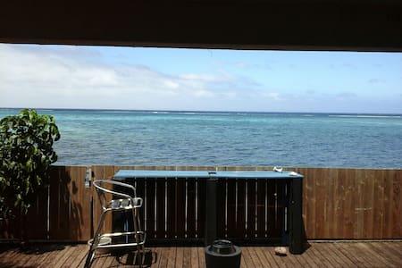 Chambre bord de lagon avec clim - Paea