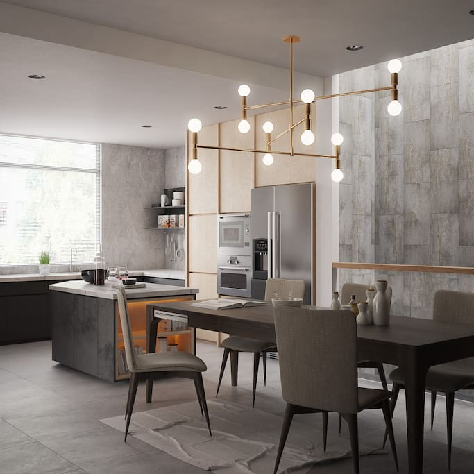 Kitchen public (3D)
