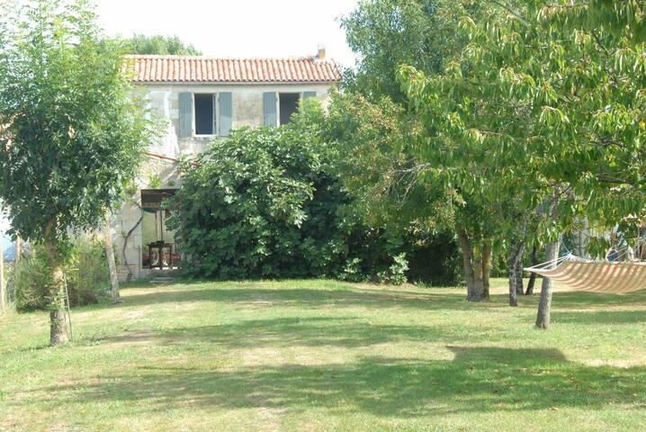 Restored 19thC Schoolhouse in Venise Verte, Vendee