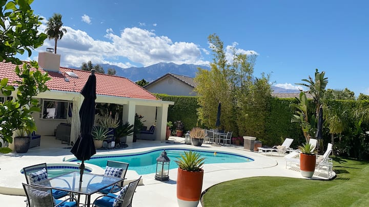 SPECTACULAR LUXURY PALM SPRINGS HOME, POOL, GARDEN