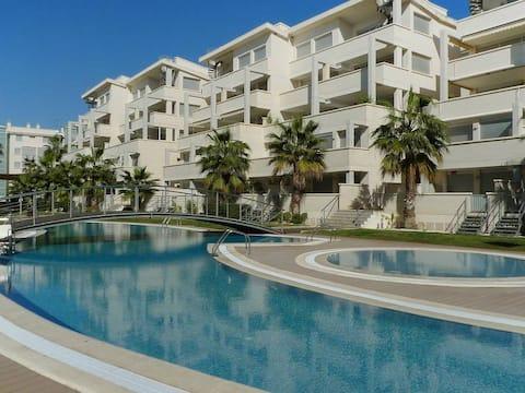 Apartamento acogedor, urbanización Elegance Denia