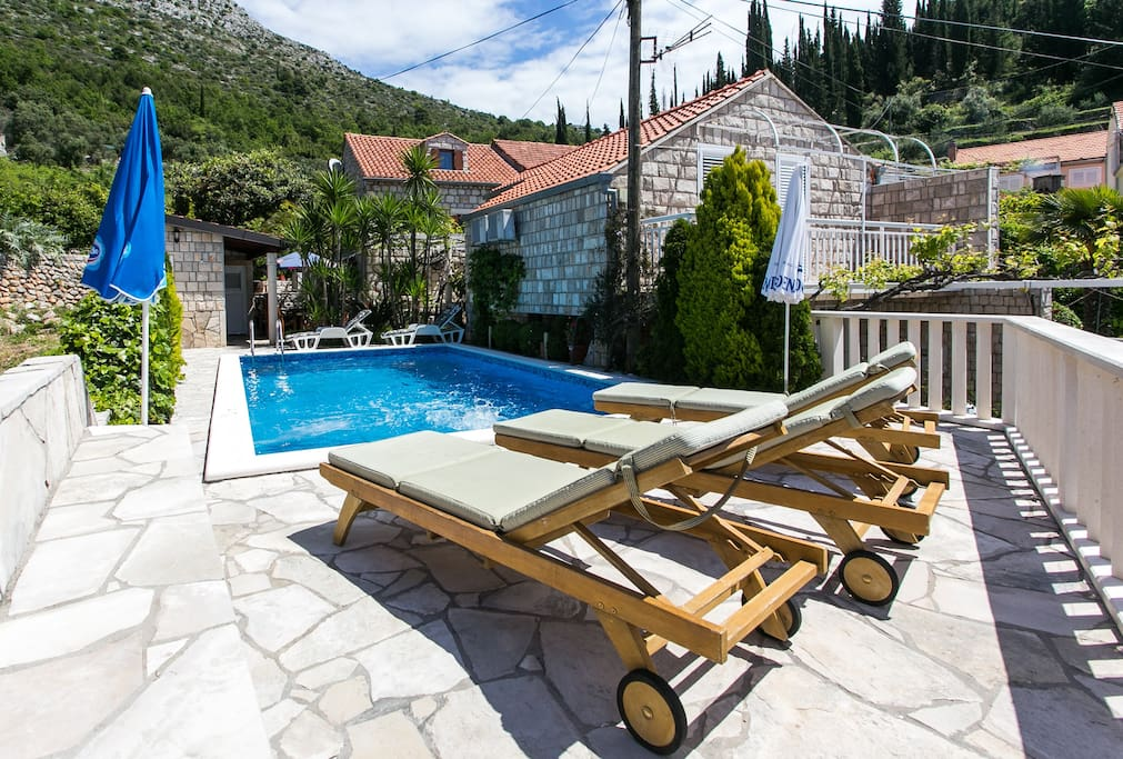 Pool and terrace area
