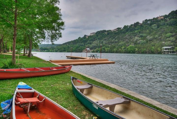 Lake Austin, Eanes, 30 days or more