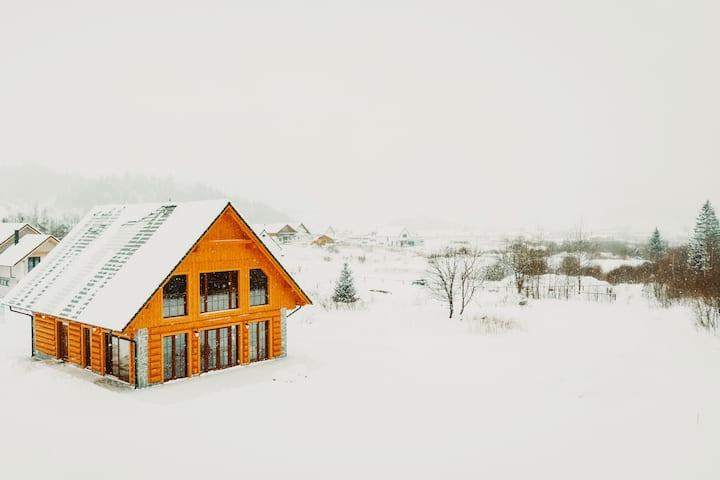 Chalet Januska - unique log cabin