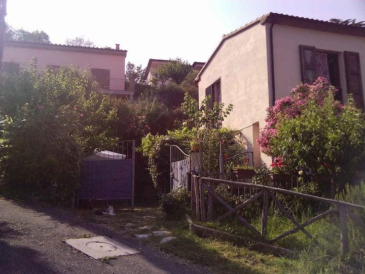 Appartamento con giardino con vista panoramica