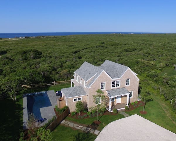 Stunning Modern Cottage with Pool and Ocean Views - Nantucket - Appartement