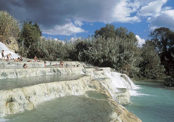 Hot springs Saturnia Agriturismo La Meria